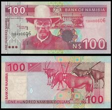 Namibia 100 Namibia Dollars ND 2003 P 9A UNC