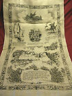 Vintage Mount Rushmore Linen Kitchen Hand Dish Tea Towel South Dakota Souvenir