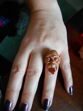 Fancy Dress GARGOYLE RING ADJUSTABLE ADULT OR CHILD  BNWOT SPOOKY