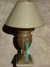 Lampe Tischleuchte Tischlampe Schreibtischlampe Stehlampe Marmor2 Optik Deko Neu