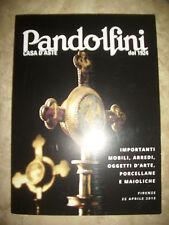 PANDOLFINI CASA D'ASTE DAL 1924.IMPORTANTI MOBILI - FIRENZE 22 APRILE 2015 (PF)