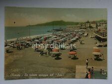 CHIAVARI spiaggia del Lido vecchia cartolina