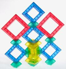 Translucent 30p Wedgits  Stacking Special Needs Sensory Toy  Blocks Kids W300021