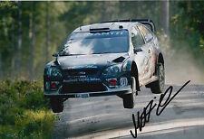 Matti Rantanen Hand Signed 12x8 Photo Ford Rally 1.