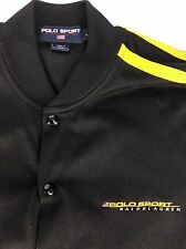 Polo Sport Ralph Lauren Track Jacket - Snap Close - Handwarmer Pockets - Large