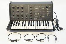 KORG MS-10 Vintage Analog Semi-Modular Synthesizer MS 10 20 AS-IS