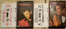CHRIS ISAAK San Francisco Days Wicked Game ISRAEL HEBREW LOT CASSETTE