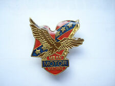 SALE RARE VINTAGE MEAN MACHINE USA FLAG TRUCK MOTORCYCLES CAR BIKE PIN BADGE 99p