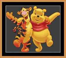 Winnie The Pooh And Tigger Cross Stitch Kit