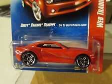 Hot Wheels Chevy Camaro Concept Web Trading Cars Red