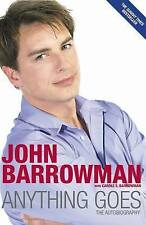 Anything Goes: The Autobiography by John Barrowman (Paperback, 2009) New Book