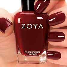 ZOYA #ZP685 PEPPER brick red nail polish lacquer~CASHMERES Collection 0.5 oz NEW