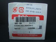 Ball Bearing 3005-504 M30X75X17 Suzuki Genuine Parts Japan