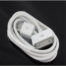 100% GENUINE APPLE USB CHARGER LEAD CABLE PHONE 4 4S 3G 3GS POD & PAD 2 & 1