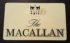 The Macallan scotch whisky sticker / decal