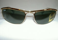 RAY BAN Sunglasses PREDATOR OLYMPIAN  Gold Frame  RB 3119 001  G-15  Lenses 62mm