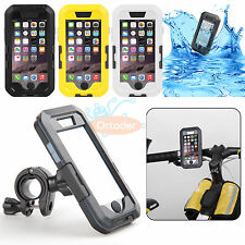 Waterproof Bicycle Bike Handlebar Case Bag Pouch Holder Mount for iPhone 6 4.7""