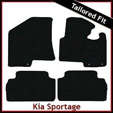 Kia Sportage Mk3 2010-2015 Fully Tailored Fitted Carpet Car Floor Mats BLACK