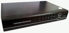 DVR 8 canali HDMI REGISTRATORE H.264 VIDEOSORVEGLIANZA LAN USB VGA