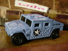 NEW 2016 MILITARY Matchbox HUMVEE☆Navy Blue; B TEAM☆LOOSE