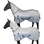 NEW HORSE RIDING FULL NECK BELLY TURNOUT SUMMER COVER COMBO FLY RUG SIZE 4'6-7'0
