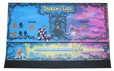 Cinematronics Dragon's Lair Control Panel Overlay, CPO, Screen Printed Repro