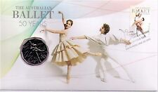 2012 The Australian Ballet 50 Years PNC with 50 cent coin