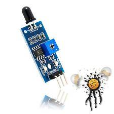 ESP8266 IR Flammen Flame Sensor Modul digital analog 760-1100nm 3.3-5V Arduino
