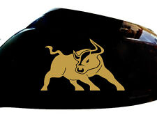 Bull Raton Car Sticker Wing Mirror Styling Decals (Set of 2), Gold