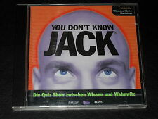YOU DON'T KNOW JACK 1 - PC SPIEL