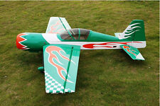 RC Airplane Gas 50cc Green 85in/2159mm YAK54 Wood 3D Aerobatic Model ARF
