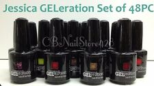 Jessica GELeration Soak Off Nail Gel Polish 0.5oz/15ml- Set of 48 Colors