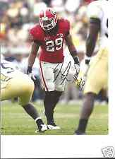 JARVIS JONES GEORGIA BULLDOGS SIGNED 8X10 PHOTO W/COA