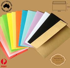 50 x DL Colored Envelopes Premium Quality Envelopes  220mmx110mm-Australian Made