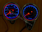 Universal Motorcycle LED Odometer+Tachometer Speedometer Gauge With Bracket 12V