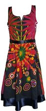 Desigual Railey Sleevless 100% Cotton Summer Dress Size XL