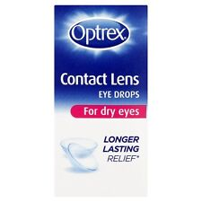 OPTREX CONTACT LENS EYE DROPS FOR DRY EYES - 10ML