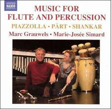 Music for Flute and Percussion    *** BRAND NEW CD ***