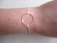 Bracelet CERCLE ANNEAU - Argent 925 - NEUF