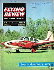 FLYING REVIEW INT DEC 64: COUNTER INSURGENCY/ YF-12A/ VALKYRIE/ MiG-15/ BEECH