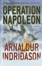 Operation Napoleon (Thorndike Thrillers)-ExLibrary