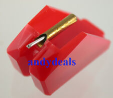 NEW IN BOX DIAMOND REPLACEMENT NEEDLE FOR TECHNICS EPS-202 EPS-23 24 25 RED