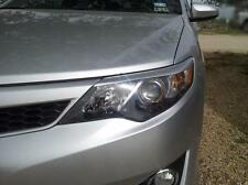 2012-14 Camry pre-cut Headlight Eyelid Overlays - Gloss Silver eye brow graphics