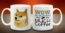 Shiba Inu Doge Internet Meme Wow So Coffee Joke Funny Mug 11oz Ceramic Cup Gift