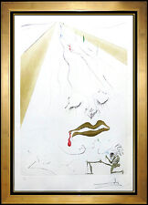 Salvador Dali Etching Authentic Original Artwork HAND SIGNED Transfiguration SBO