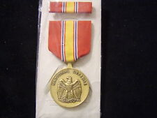 NATIONAL DEFENSE SERVICE MEDAL IN BOX OF ISSUE DATED 1992