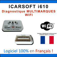 Interface iCARSOFT i610 WIFI - Puce ELM327 ÉVOLUTIVE - Diag OBD - COM VAG OBDII