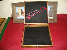 BERETTA #2 DESIGNED GUN CASE BOX HOLDS  ARMS GUNS AMMO,CLIPS-GRIPS-CLEAN KIT