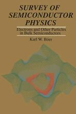 Survey of Semiconductor Physics: Electrons and Other Particles in Bulk Semicondu