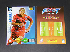 FEGHOULI GRENOBLE ROOKIE VALENCIA FOOTBALL FOOT ADRENALYN CARD PANINI 2009-2010